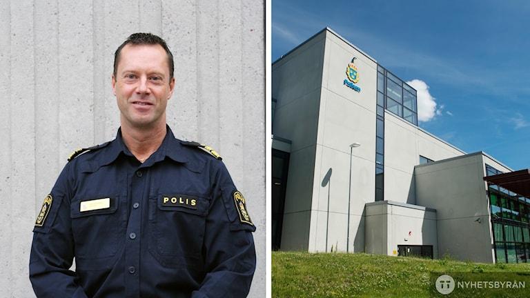 Max Åkerwall, polischef i lokalområde Södertälje.