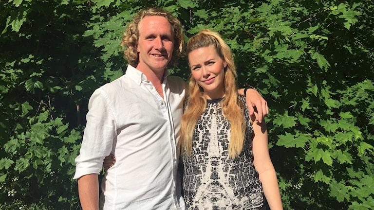 Erik Englund och Beatrice Börjesson Westlund.