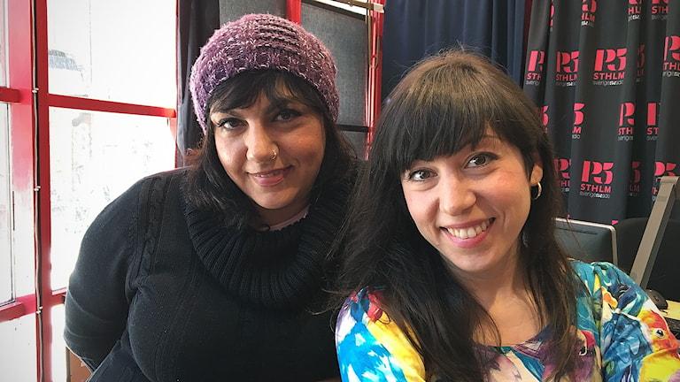 Duon Abjeez, systrarna Melody och Safoura Safavi.