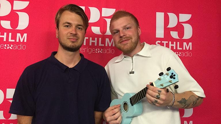 Marcus White och Hannes Jonsson, personerna bakom HANNES.