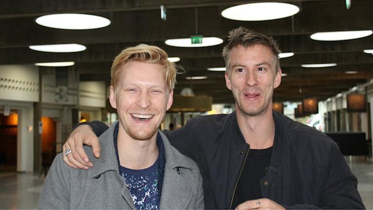 Anton Lundqvist och Filip Berg.