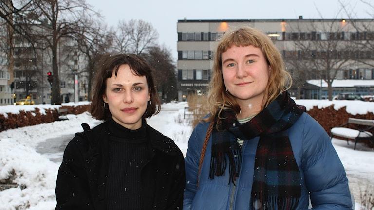 Sara Olsson och Astrid Mohlin