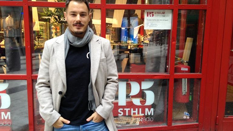 Simpn Sköld är MMA-fighter