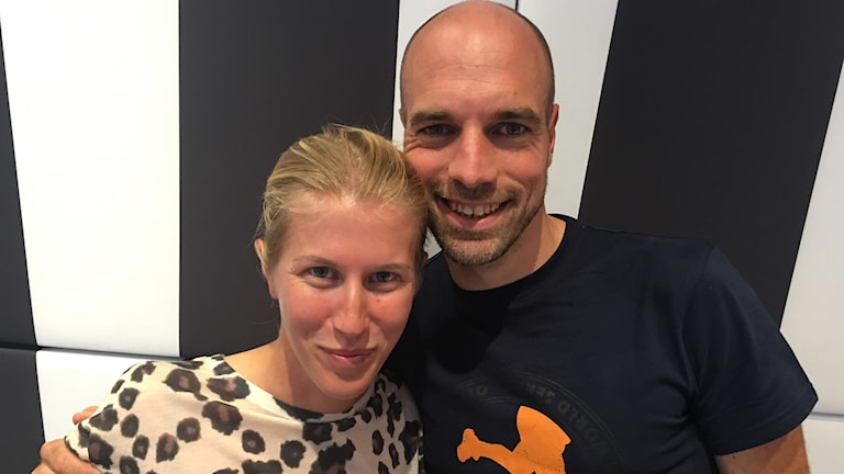 Anna Hellström och Martin Belak