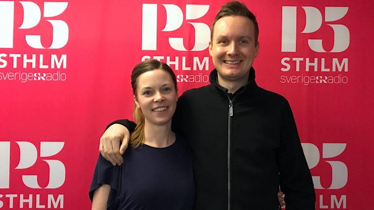 Minimalisterna Elisabeth Byström och Johan Ernfors.