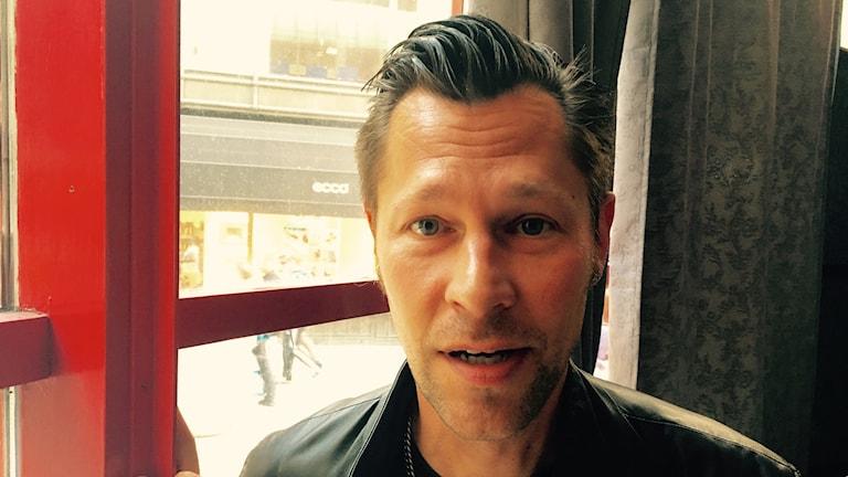 "David ""Joxaren"" Geiser. Foto: Sveriges Radio."