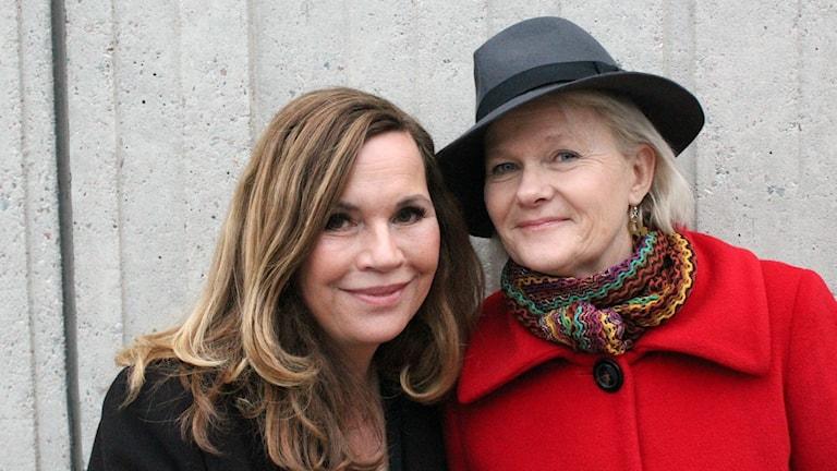 Sissela Kyle och Pernilla Oljelund