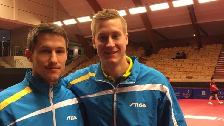 Kristian Karlsson och Mattias Karlsson Foto: Emma Kirkhoff/SR