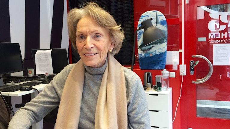 Lisbeth Sachs, medicinsk antropolog och författare.