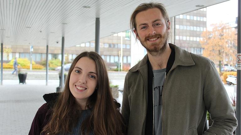 Beata Rappe och Tintin Scheynius