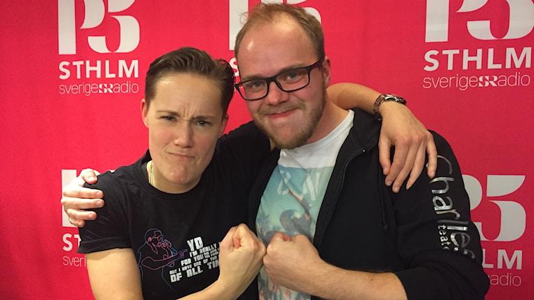 Matilda Berggren och Simon Selvin.