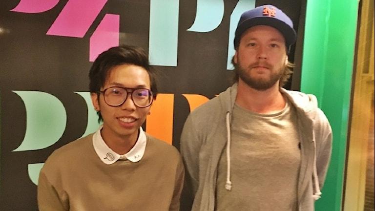Mickel Yu och Marcus Lindgren