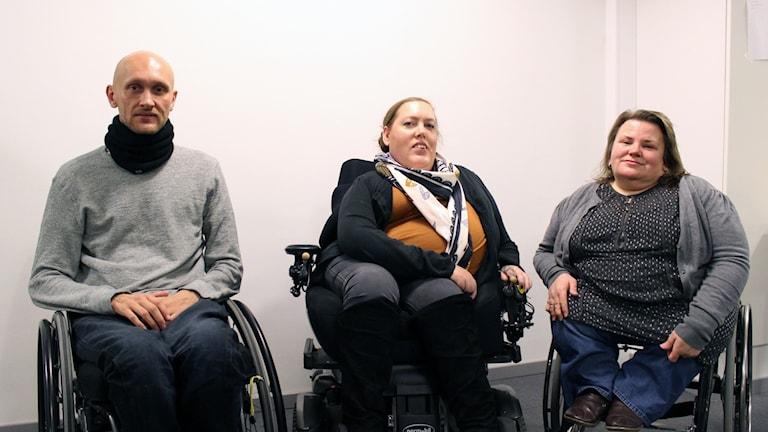 Lars Vanerud, Karolina Celinska och Maria Johansson