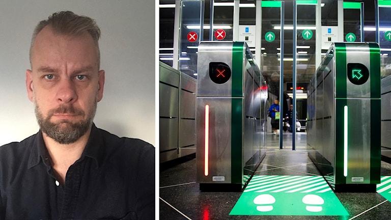 Anders Thorsson Sparring och en tunnelbanespärr