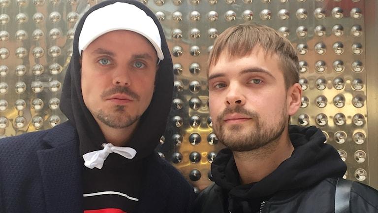 Herbert Munkhammar och Erik Nordström.