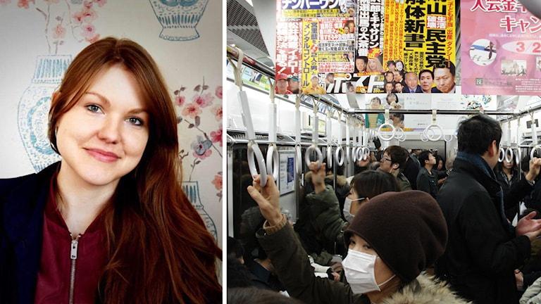 Märta-Linn Sagisaka och Tokyos tunnelbana