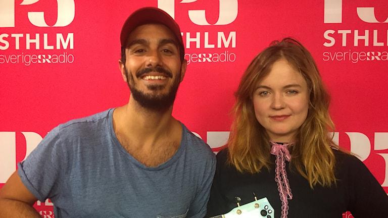 Gurgin och Cissi Efraimsson.