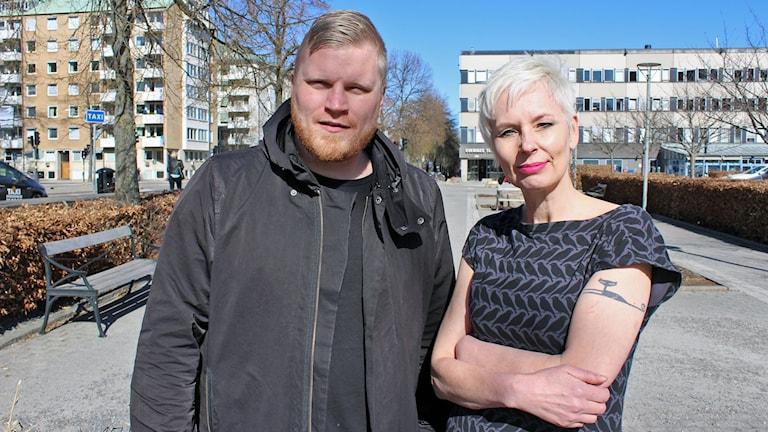 Tom Hansen och Maria Enzell P5 STHLM Topp Tre