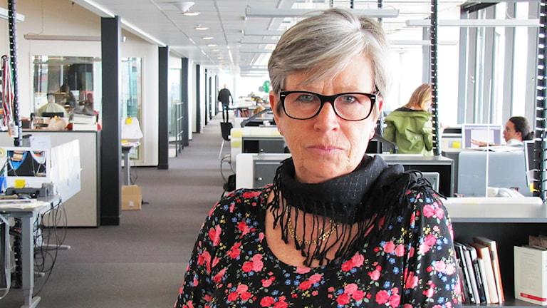 Anette Jonson-Hälleby. Foto: Filip Kruse/Sveriges Radio