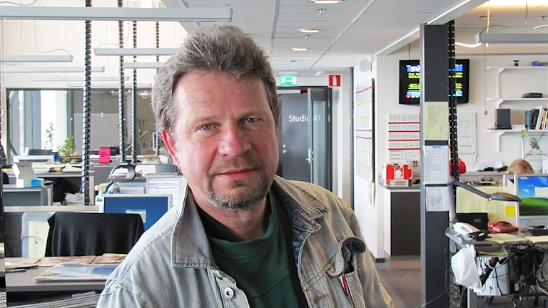 Claes-Göran Berg. Foto: Filip Kruse/Sveriges Radio