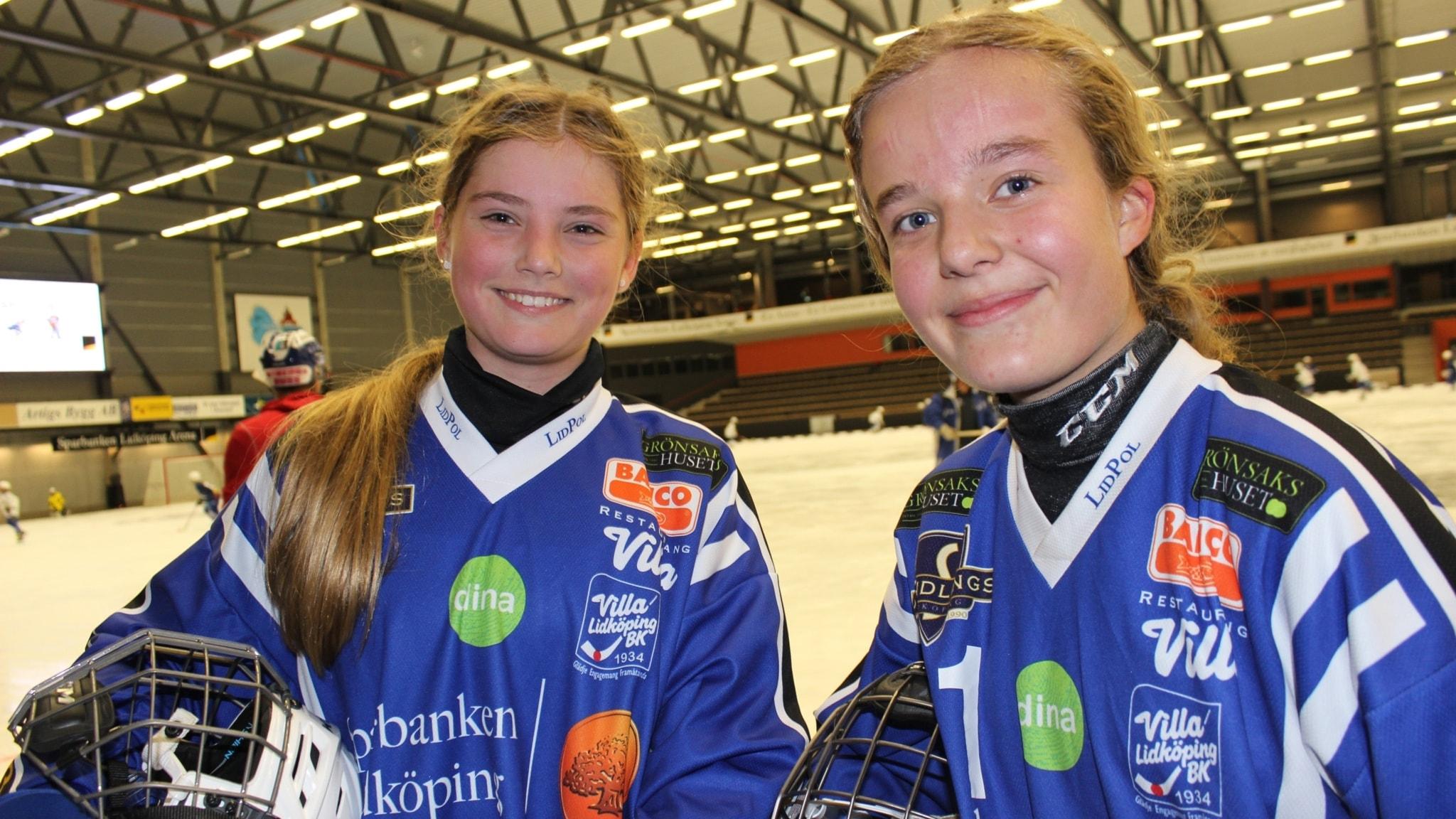 Flickbandyn blomstrar i Lidköping