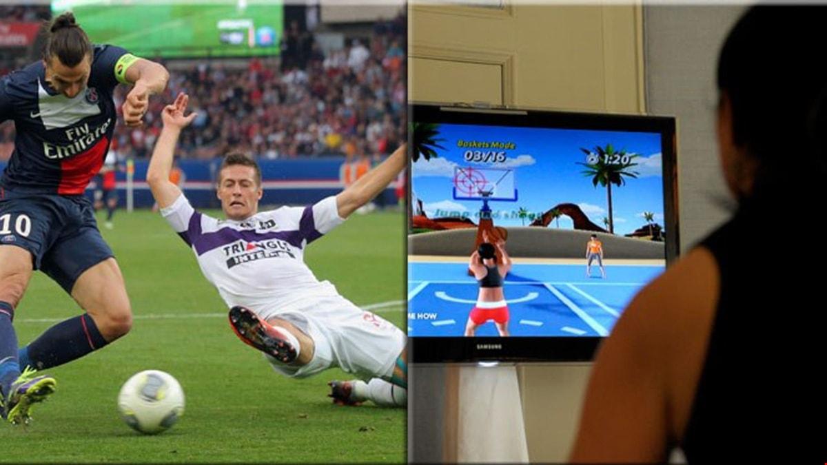 TV-spel och sport.