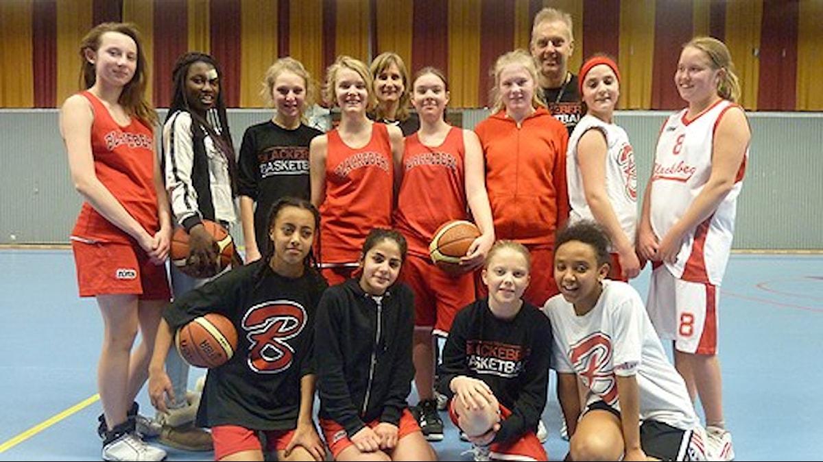 Blackeberg F99 basket. Foto: Martin Marhlo/Sveriges Radio.