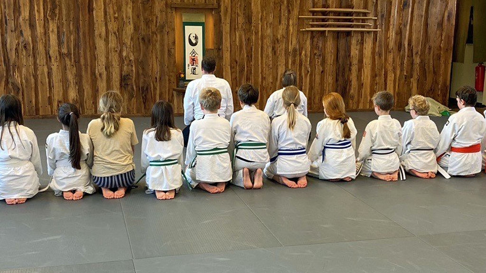 Juniorsporten på kampsporten Aikido.