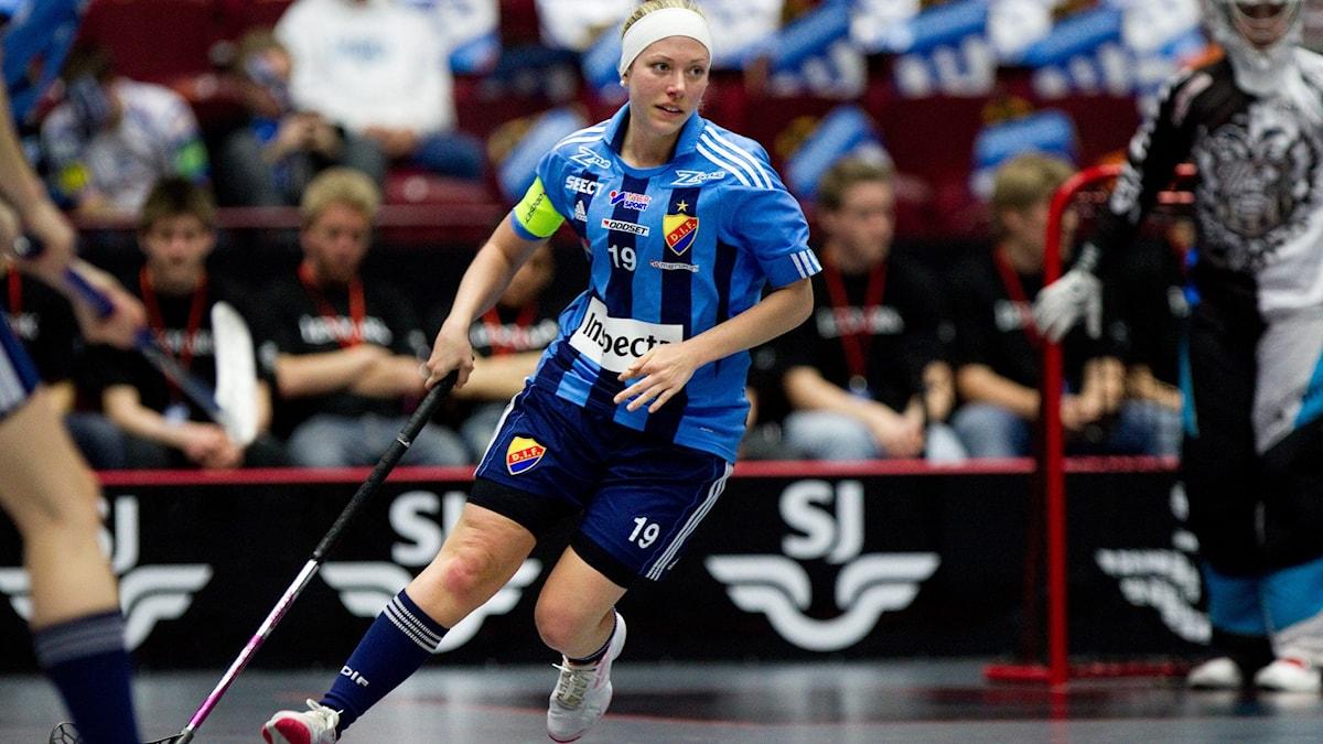 Innebandyspelaren Emelie Lindström