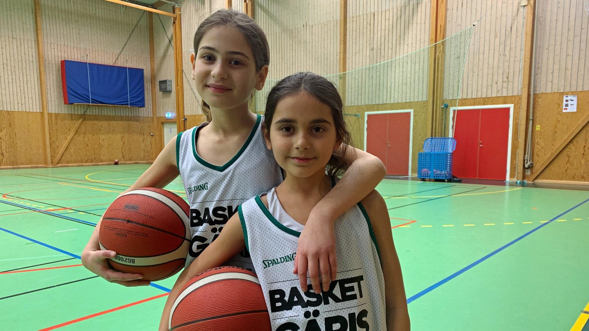 Basketspelaren Marina: