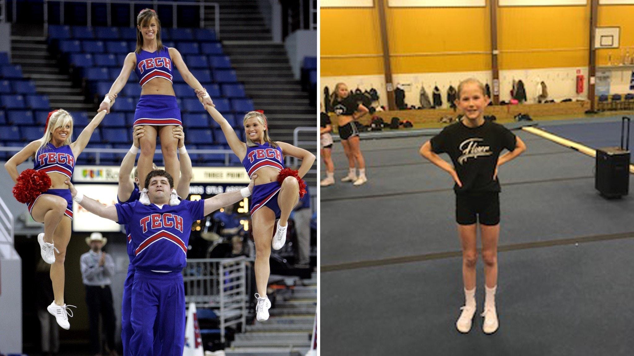Vi går på spektakulär cheerleading
