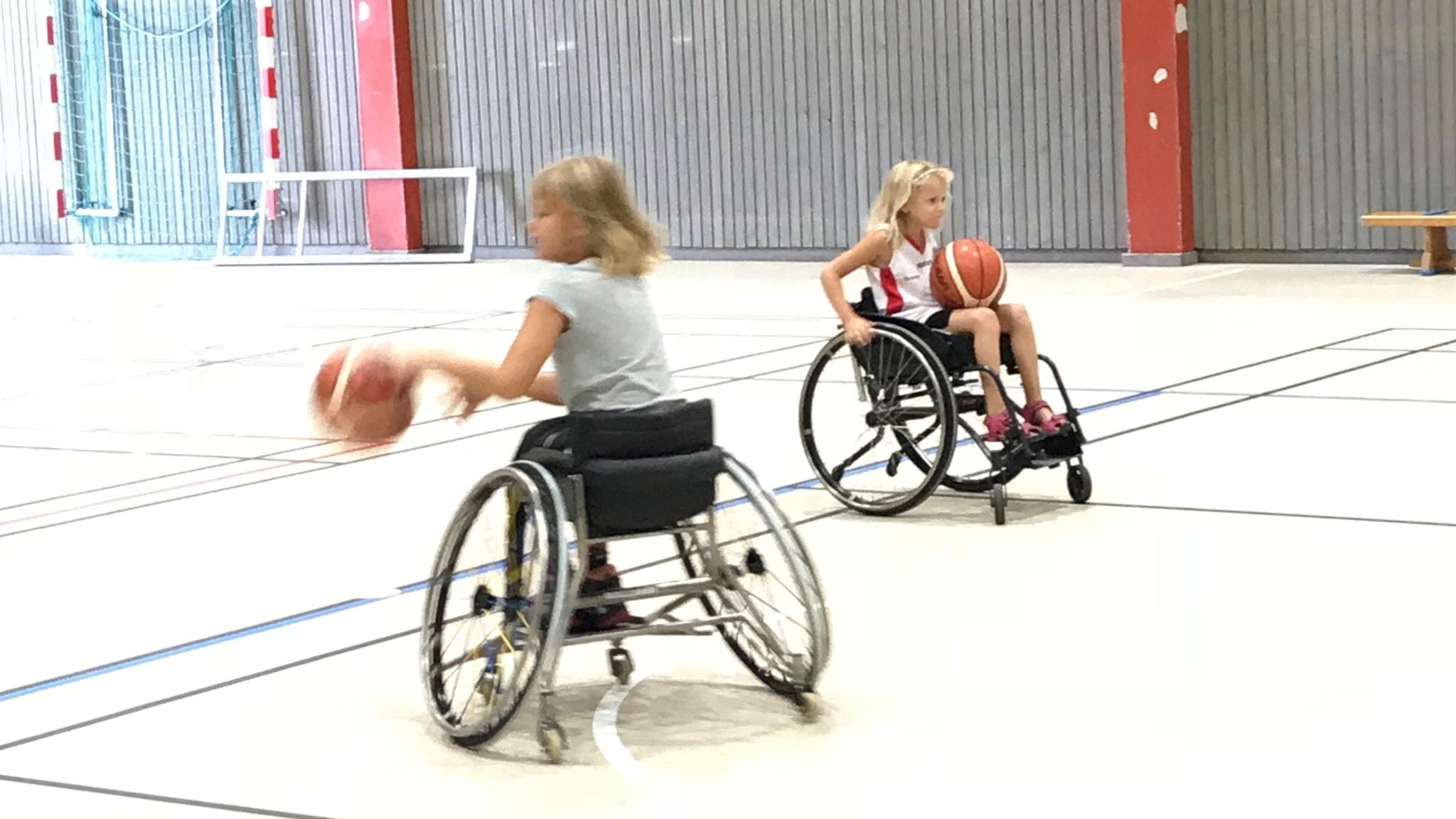 Juniorsporten – den här veckan med rullstolsbasket