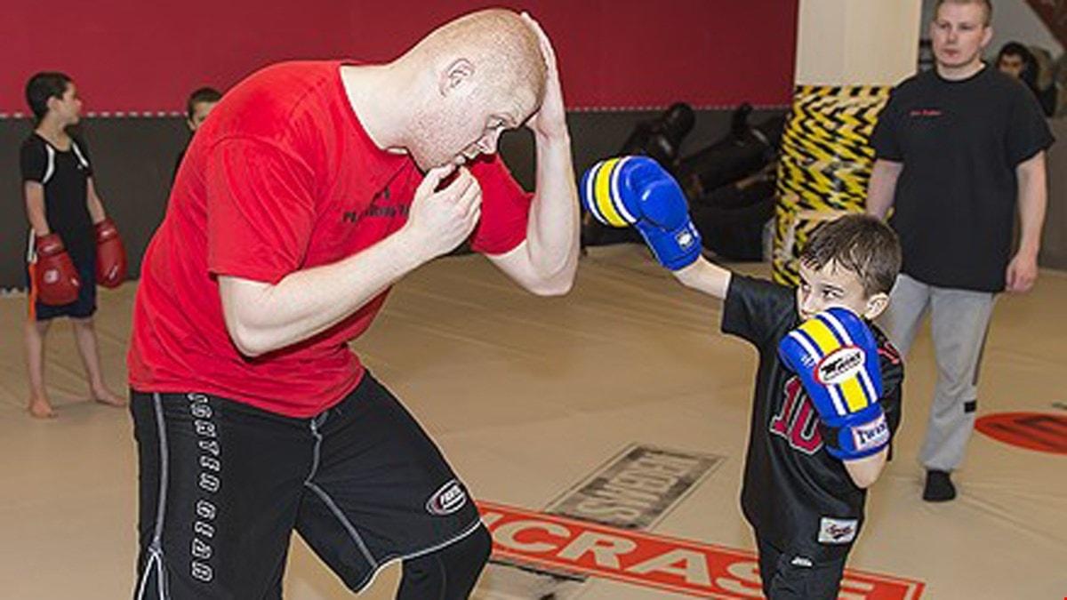 Juniorsporten MMA.