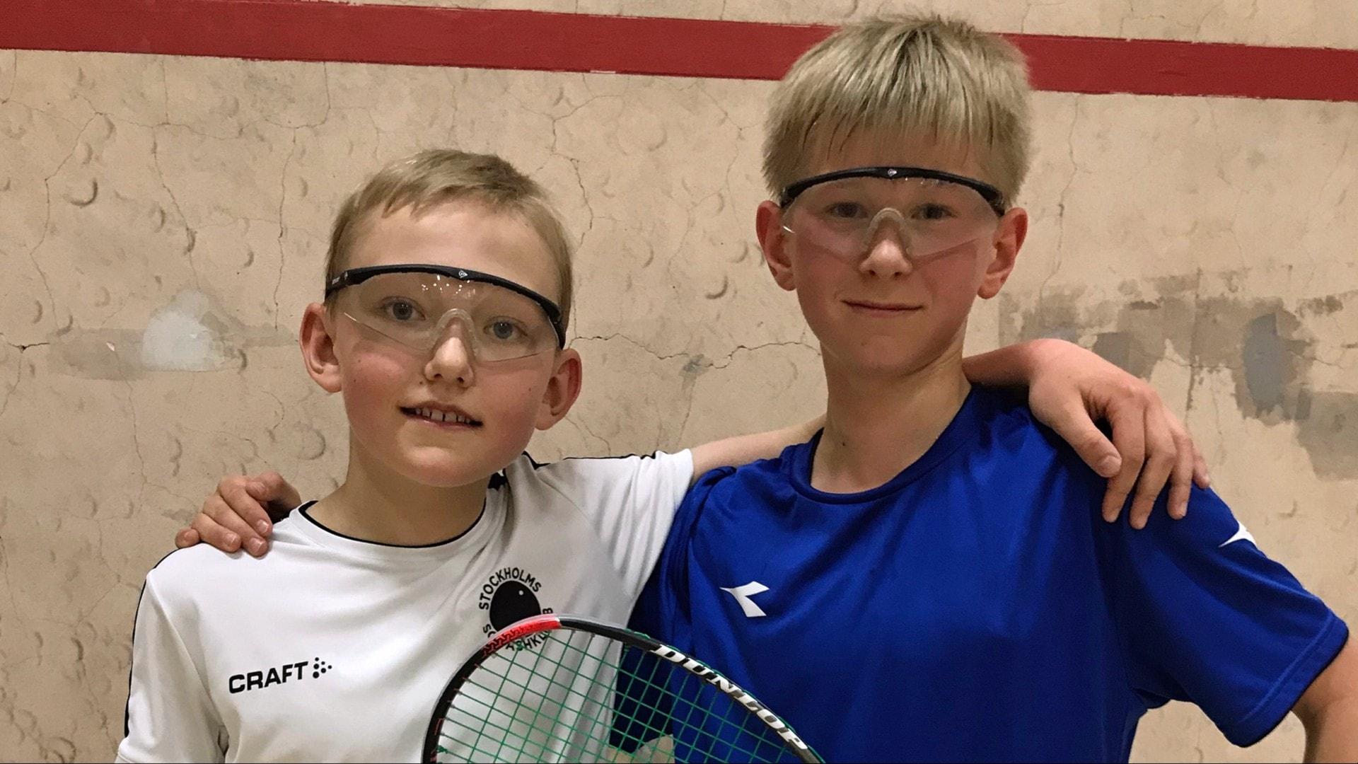 Axel 11 – drömmer om en karriär som squashproffs