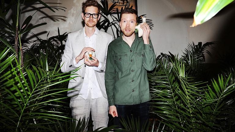 Anders Johansson och Måns Nilsson. Foto: Julia Lindemalm