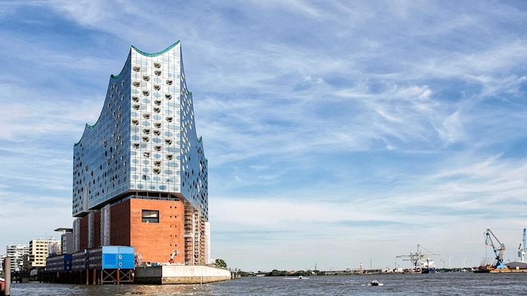 Hamburgs nya konserthus. Foto: Thies Rätzke