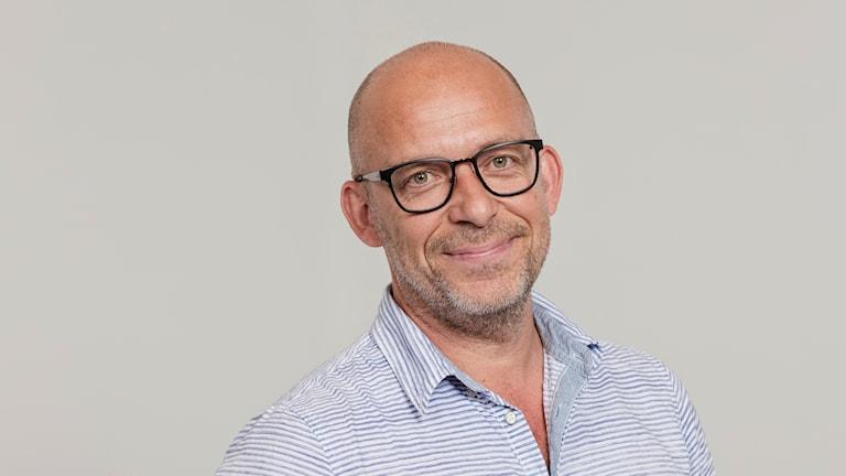 Markus Boger. Foto: Mattias Ahlm/Sveriges Radio
