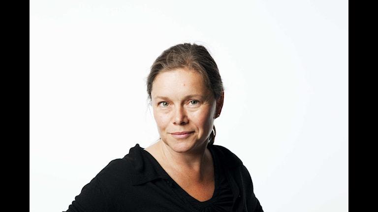 Anneli Dufva. Foto: Mattias Ahlm/Sveriges Radio
