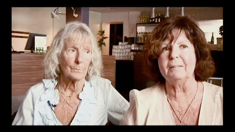 Birgitta Hellström och Barbro Gustavsson var 9 respektive 13
