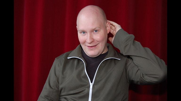 Henrik Dorsin, skådespelare. Foto: Karolina Jonason/SVT