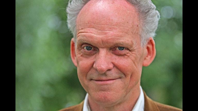 Ingvar Storm, programledare i Spanarna. Foto:Benjamin Thorén/Sveriges Radio.