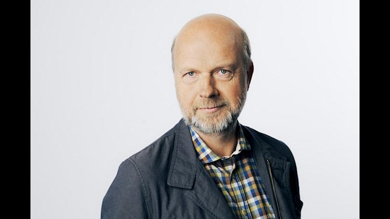 Sveriges Radios kulturkorrespondent Gunnar Bolin har samlat röster från ett Europa med olika framtidsdrömmar. Foto: Mattias Ahlm/SR