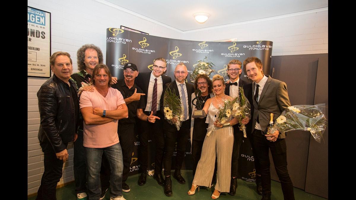Årets dansband: Blender. Foto: Martina Holmberg/Sveriges Radio