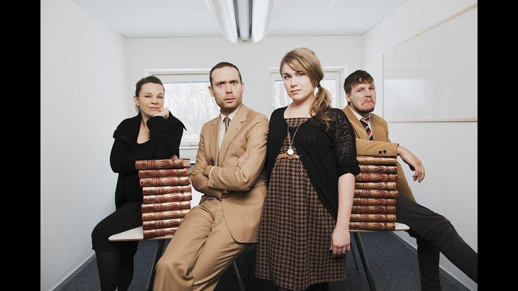 Institutet P3. Foto: Mattias Ahlm/Sveriges Radio