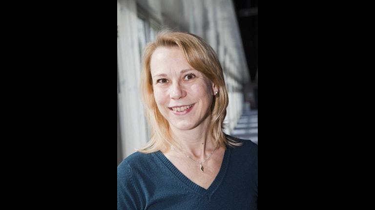 Katarina Leyman, tonsättare. Foto: Mattias Ahlm/Sveriges Radio