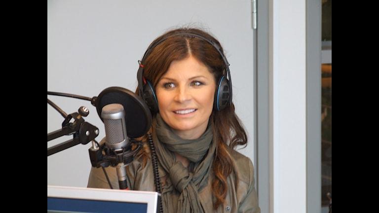 Carola Häggkvist. Foto: Niklas Kaldner/Sveriges Radio