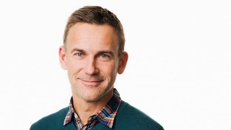 Johnny Byström, programchef, Radiosporten. Foto: Mattias Ahlm/Sveriges Radio