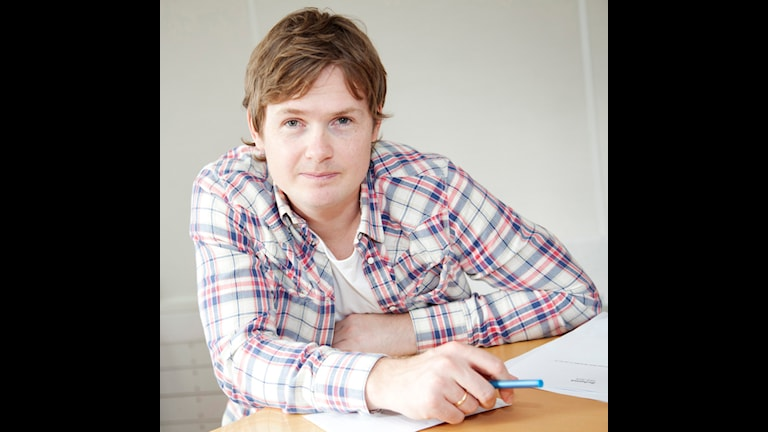 Stefan Elofsson - Radiosporten, nyhetschef. Foto: Stina Gullander/Sveriges Radio