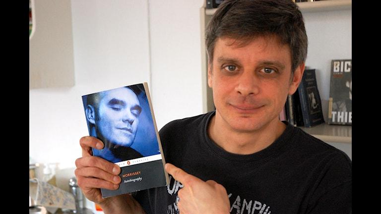 Peter Birro och Morrissey Foto: Mia Gerdin/Sveriges Radio