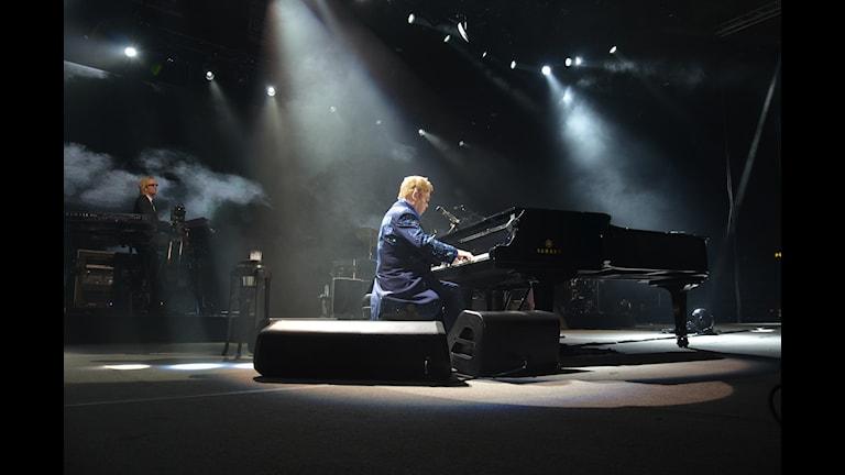 Elton John. Foto: Anders Jernquist/Sveriges Radio.